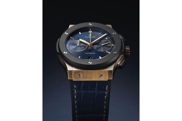Hublot Classic Fusion Bronze Bucherer Blue Edition časovnik