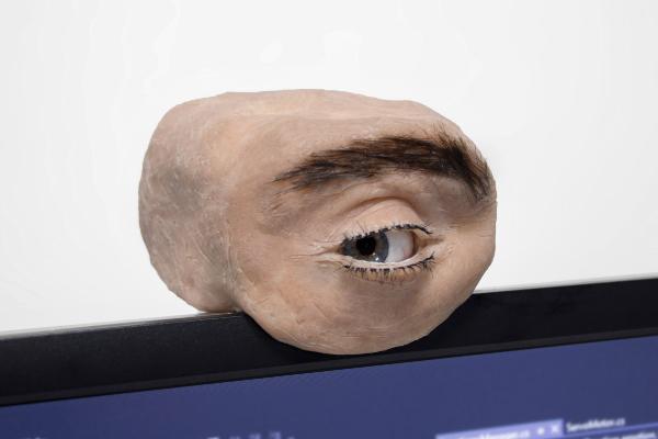 Jeziva interaktivna veb kamera u obliku ljudskog oka