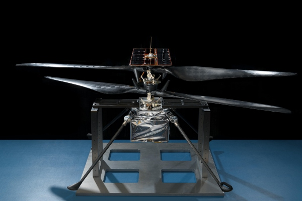Snimak prvog uspešnog leta marsovog helikoptera agencije Nasa