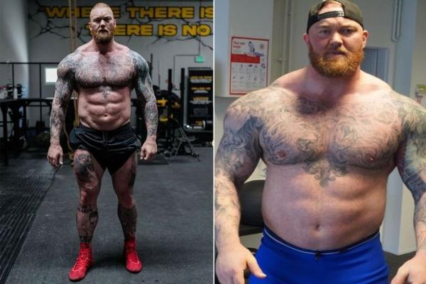 Brutalna telesna transformacija - od strongmena do punokrvnog boksera