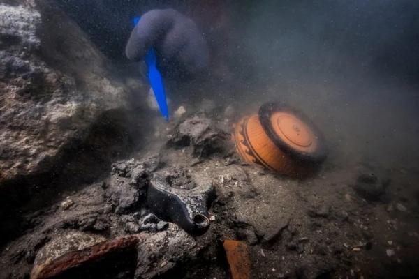 Ronioci u drevnom potopljenom gradu pronašli grčki ratni brod