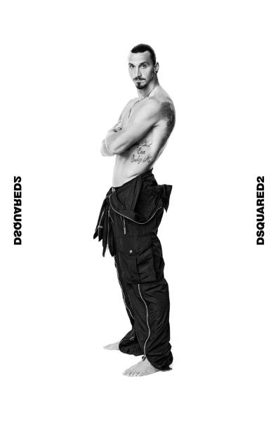 Posle dominacije na terenu Zlatan Izbrahimović prelazi u svet mode