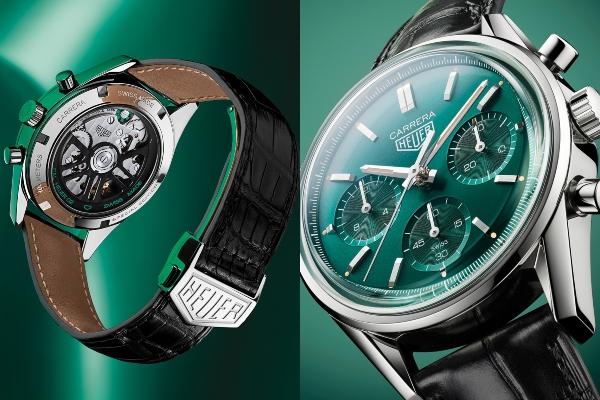 TAG Heuer predstavlja novu predivnu seriju savršene zelene nijanse