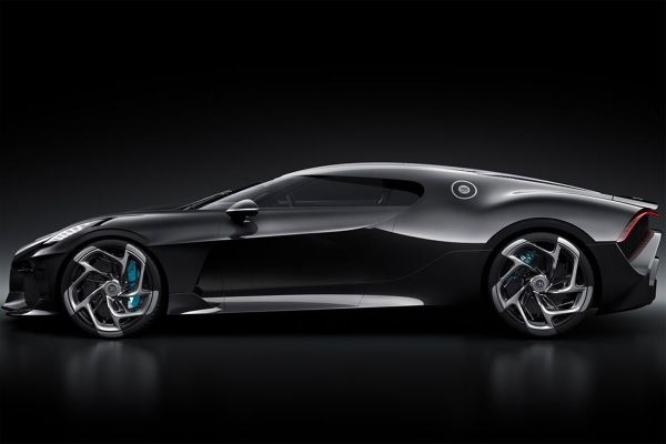 Bugatti predstavlja La Voiture Noire-Najskuplji automobil svih vremena