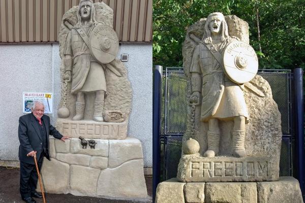 Urnebesna Ronaldova statua dobila je dvojnika u Škotskoj