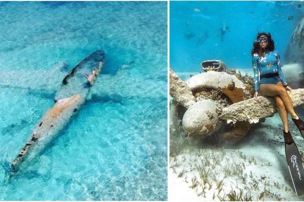 Potopljena olupina Pablovog aviona koji je služio za transport kokaina